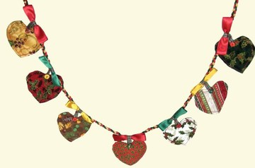 Picture of Woodland Fairy tale Christmas Garland